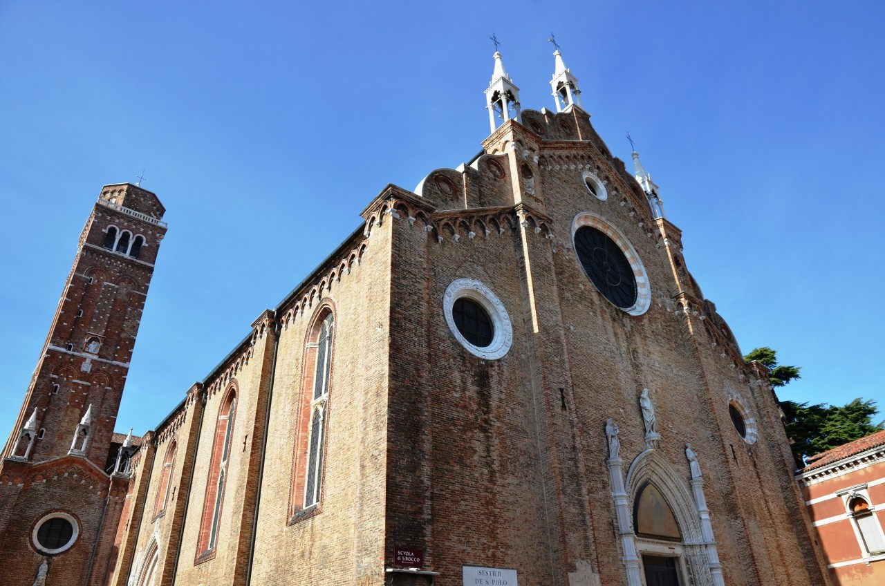 La Basilica Santa Maria dei Frari