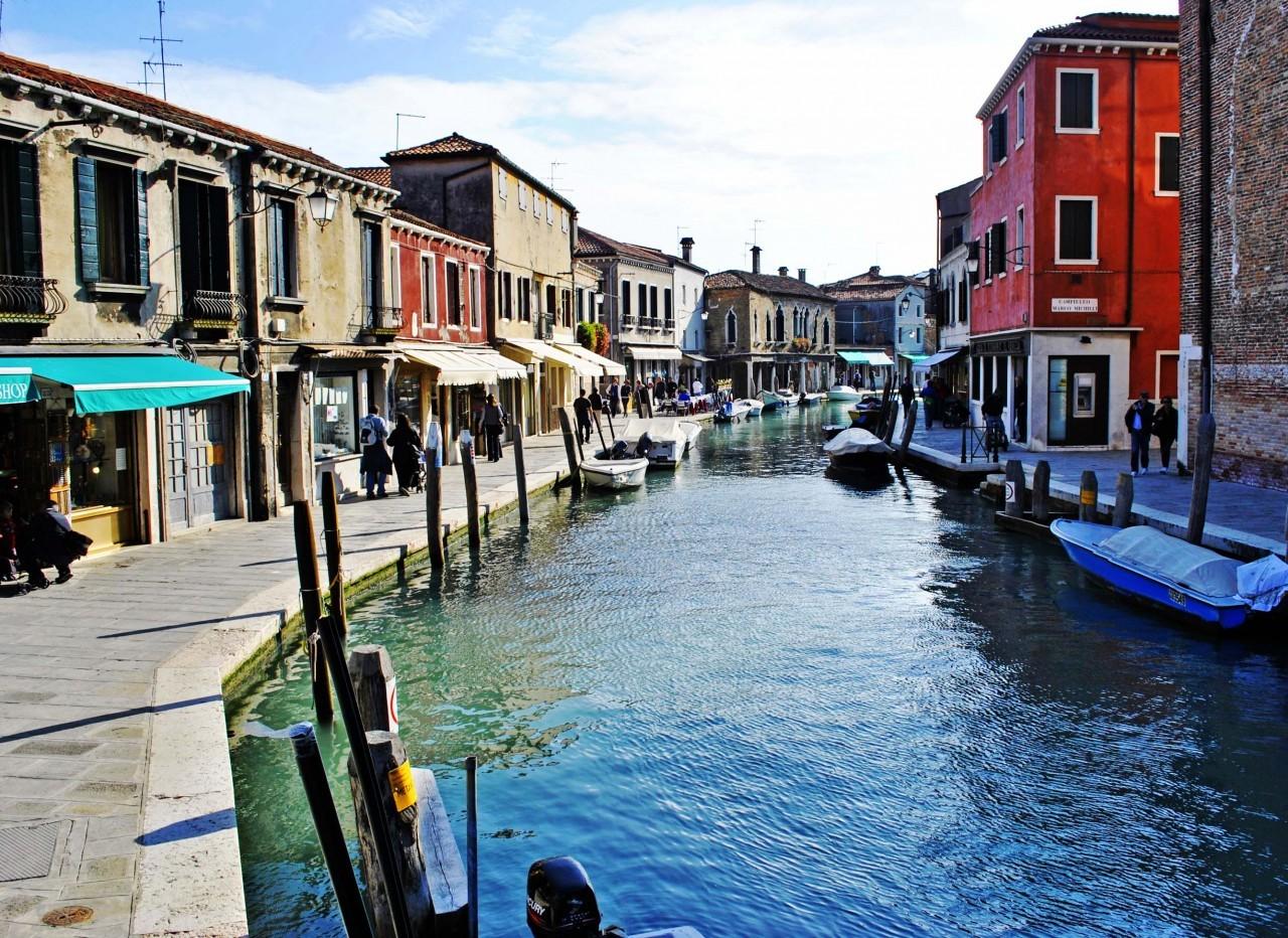Canale del isola di Murano